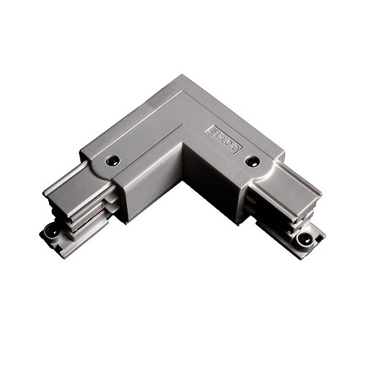 ROBUS L CONNECTOR EARTH INSIDE (SATIN SILVER): modern  by DirectTradeSupplies, Modern