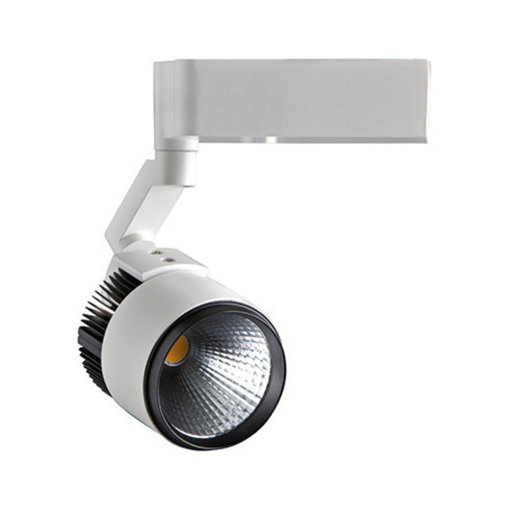 ROBUS 15W STARSHIP LED TRACK SPOTLIGHT (WHITE): modern  by DirectTradeSupplies, Modern