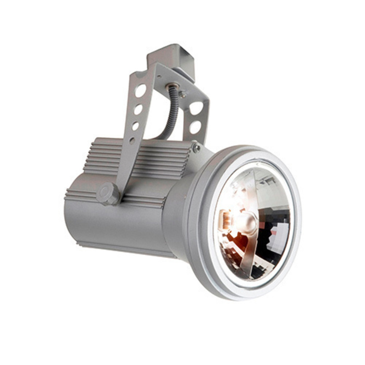 ROBUS 12V TRACK PROJECTOR FOR AR111 LAMP (SATIN SILVER): modern  by DirectTradeSupplies, Modern