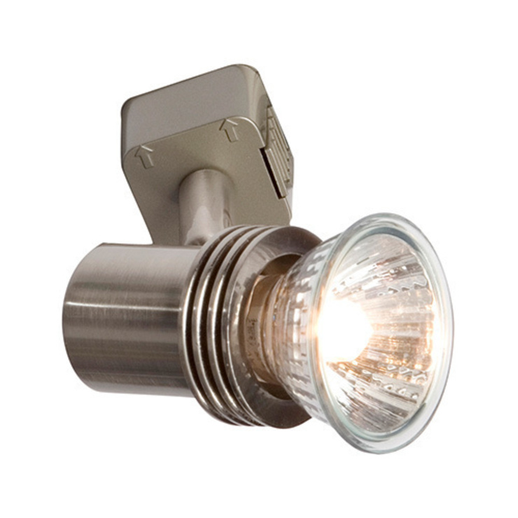 ROBUS PETITE SPOTLIGHT (BRUSHED CHROME): modern  by DirectTradeSupplies, Modern