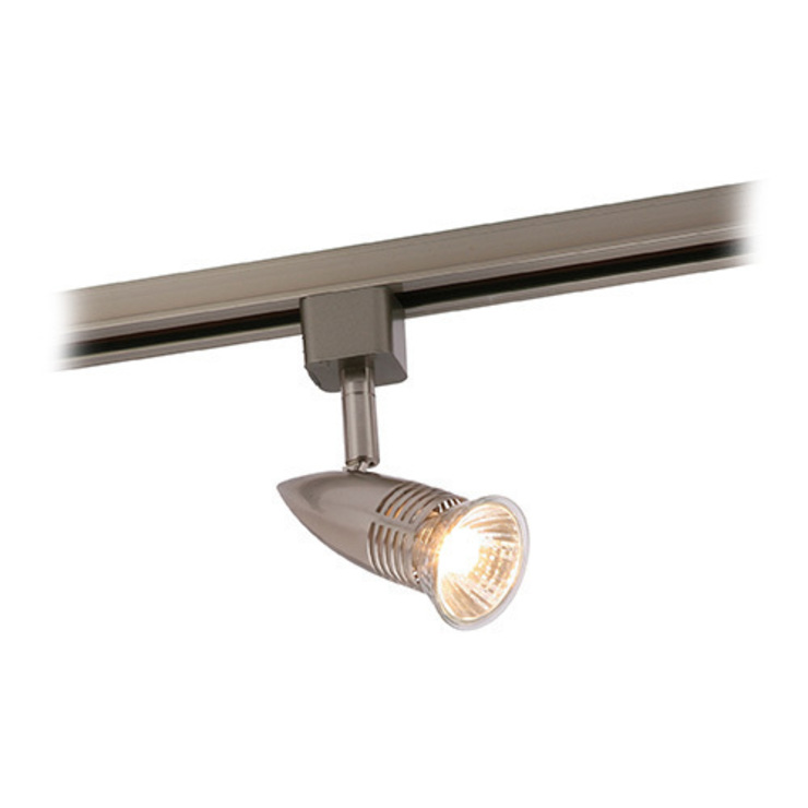 SAXBY LIGHTING CONOR 50W GU10 MAINS TRACK SPOTLIGHT (SATIN CHROME): modern  by DirectTradeSupplies, Modern