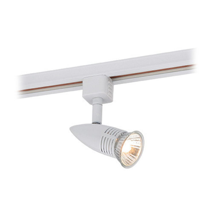 SAXBY LIGHTING CONOR 50W GU10 MAINS TRACK SPOTLIGHT (GLOSS WHITE): modern  by DirectTradeSupplies, Modern