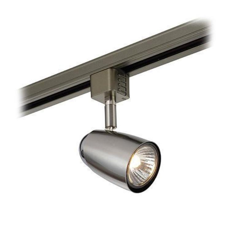 SAXBY LIGHTING MONTE 50W TRACK HEAD LIGHT (SATIN CHROME): modern  by DirectTradeSupplies, Modern