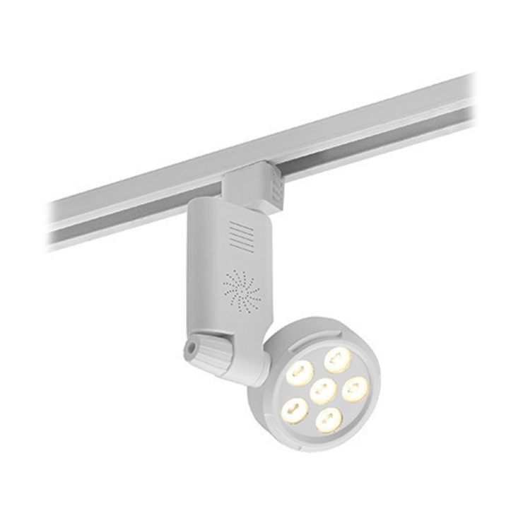 SAXBY LIGHTING SPIRA 6W LED HEAD UNIT (MATT WHITE): modern  by DirectTradeSupplies, Modern