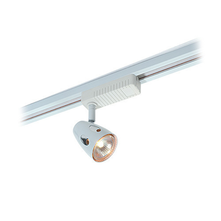 SAXBY LIGHTING PERA 50W TRACK SPOTLIGHT (GLOSS WHITE): modern  by DirectTradeSupplies, Modern