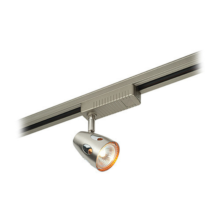 SAXBY LIGHTING PERA 50W TRACK SPOTLIGHT (SATIN CHROME): modern  by DirectTradeSupplies, Modern
