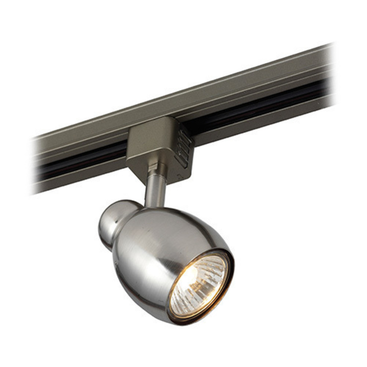 SAXBY LIGHTING VIVI 50W TRACK HEAD LIGHT (SATIN CHROME): modern  by DirectTradeSupplies, Modern