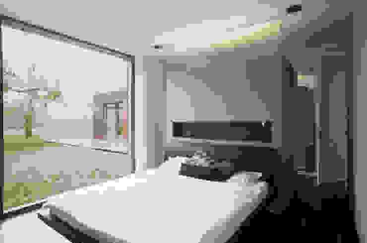 Nowoczesna sypialnia od Markus Gentner Architekten Nowoczesny