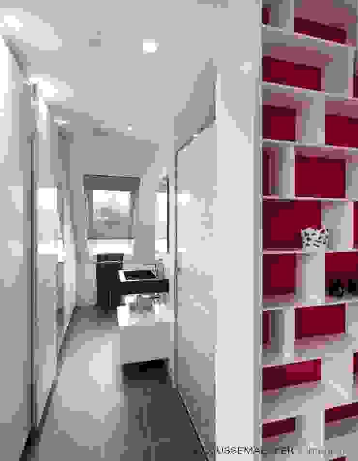Baños de estilo moderno de Decoussemaecker Interieurs Moderno