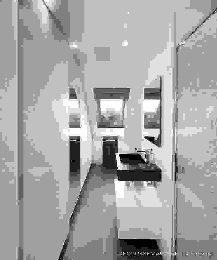 Baños de estilo minimalista de Decoussemaecker Interieurs Minimalista