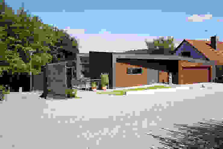 Zufahrt Markus Gentner Architekten Moderne Häuser