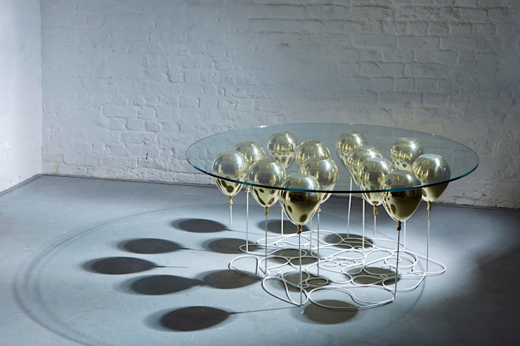 UP Balloon Coffee Table, Round Edition 2015: eclectic  by Duffy London, Eclectic