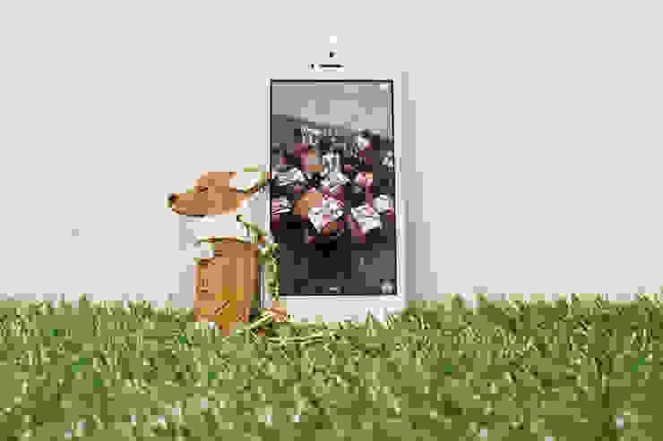 잠자는 아가코기 핸드폰 장식 & 참장식: 아트워커팩토리의 현대 ,모던