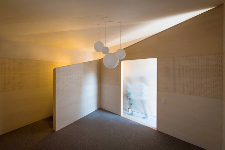 Minimalist garage/shed by NI&Co. Architects 一級建築士事務所 Minimalist