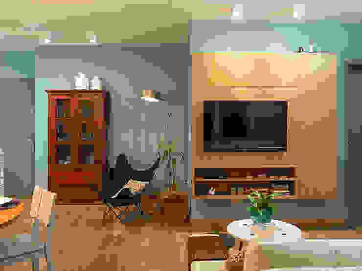 Modern living room by Isabela Bethônico Arquitetura Modern
