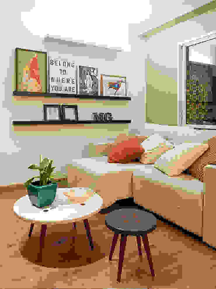 RESIDÊNCIA MAYNARD Salas de estar modernas por Isabela Bethônico Arquitetura Moderno