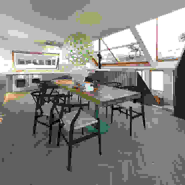 Vis Moderne keukens van M&M Watervilla Modern