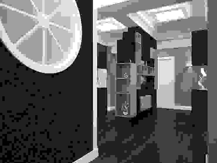 Холл Коридор, прихожая и лестница в эклектичном стиле от LD design Эклектичный