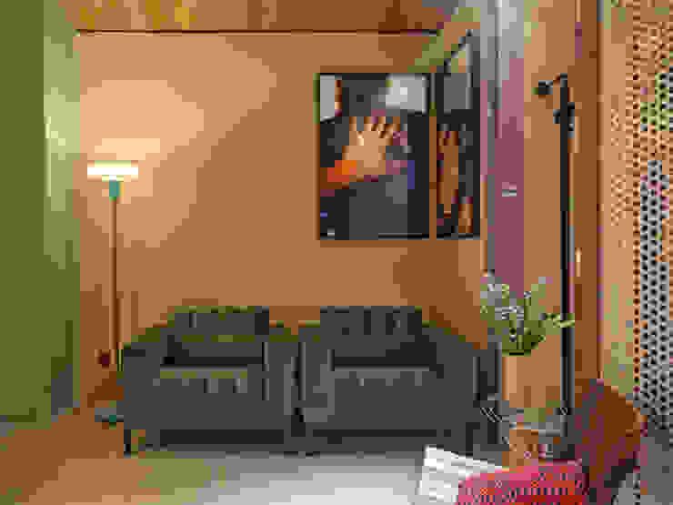 CASA COR - LOFT MULHER MODERNA Salas de estar modernas por Isabela Bethônico Arquitetura Moderno