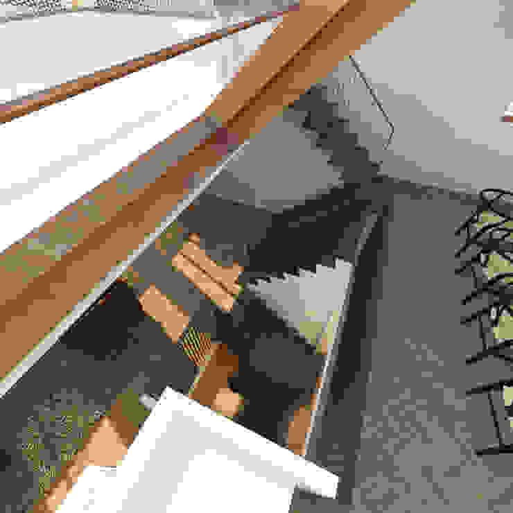 Vis Moderne gangen, hallen & trappenhuizen van M&M Watervilla Modern