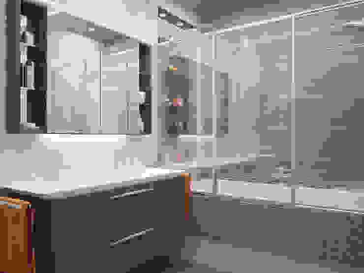 Санузел для мальчиков Ванная комната в эклектичном стиле от LD design Эклектичный