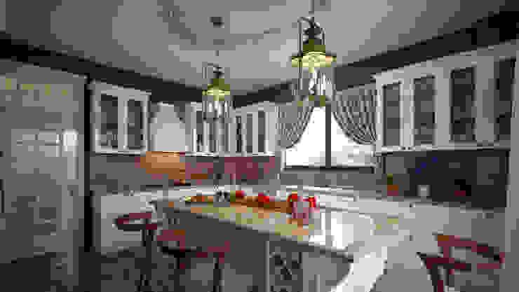 erenyan mimarlık proje&tasarım Rustic style kitchen