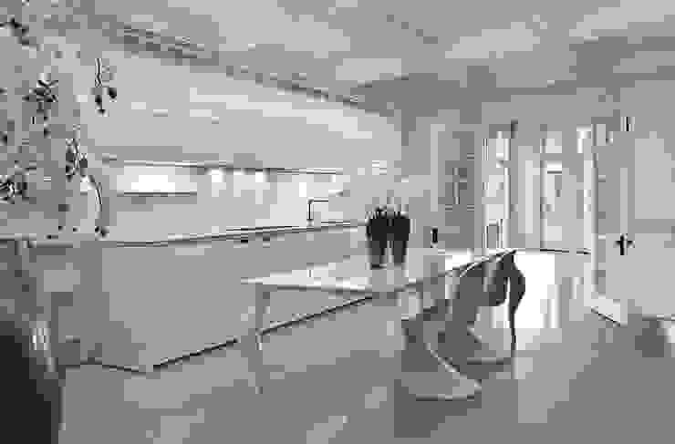 Nhà bếp phong cách tối giản bởi erenyan mimarlık proje&tasarım Tối giản