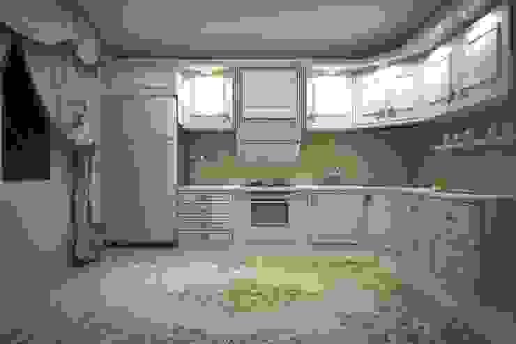 ミニマルデザインの キッチン の erenyan mimarlık proje&tasarım ミニマル