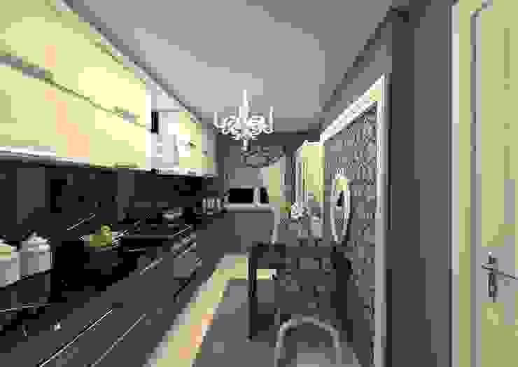 Küche von erenyan mimarlık proje&tasarım