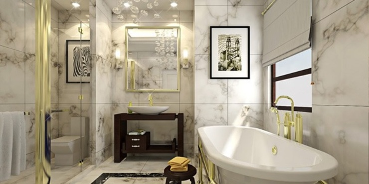 Bathroom by erenyan mimarlık proje&tasarım