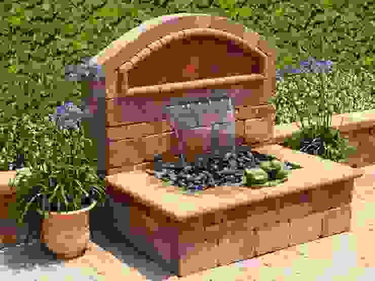 Damla Şelale – Bahçe Şelalesi: modern tarz , Modern