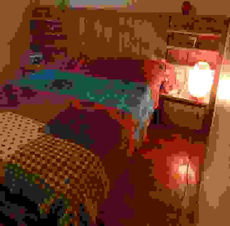 Palet Yatak Odası Atölye Butka Rustik