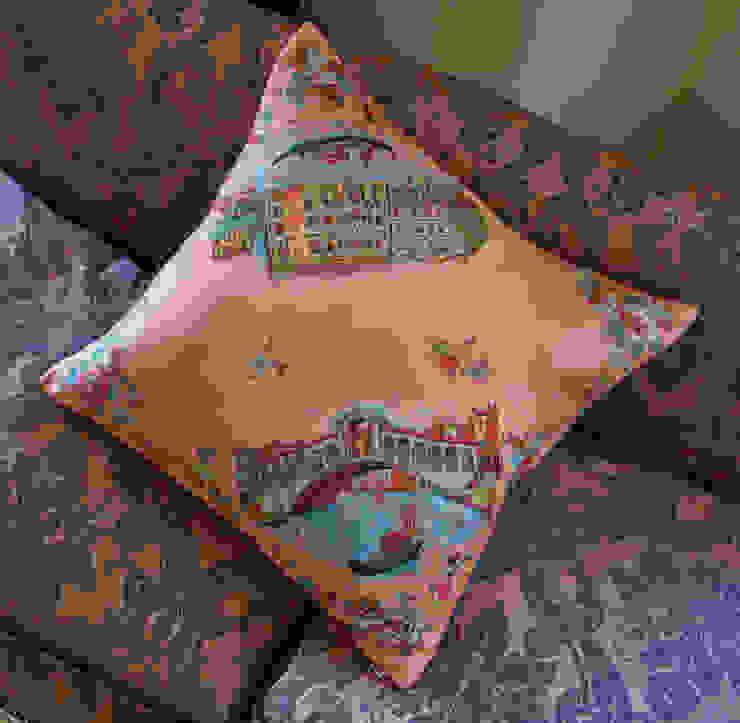 Silk Memento Cushion - Venice: classic  by RE, Classic