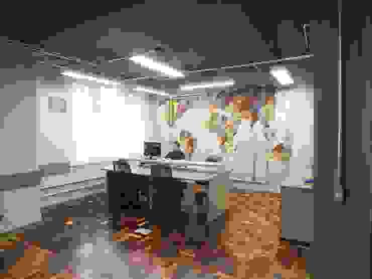 Departamento comercial Escritórios modernos por Arketing Identidade e Ambiente Moderno