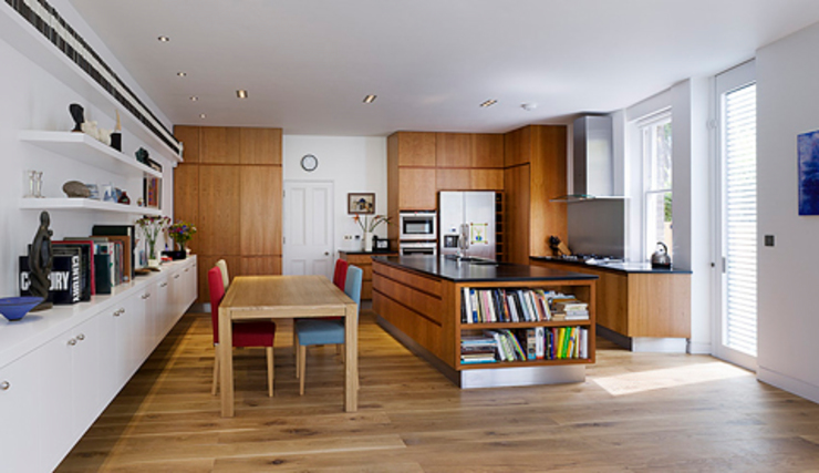 Milman Road - cherrywood kitchen Modern kitchen by Syte Architects Modern