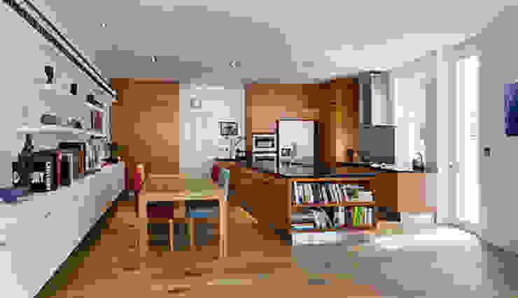 Milman Road - cherrywood kitchen Modern Kitchen by Syte Architects Modern