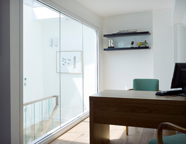 Milman Road - study Modern study/office by Syte Architects Modern