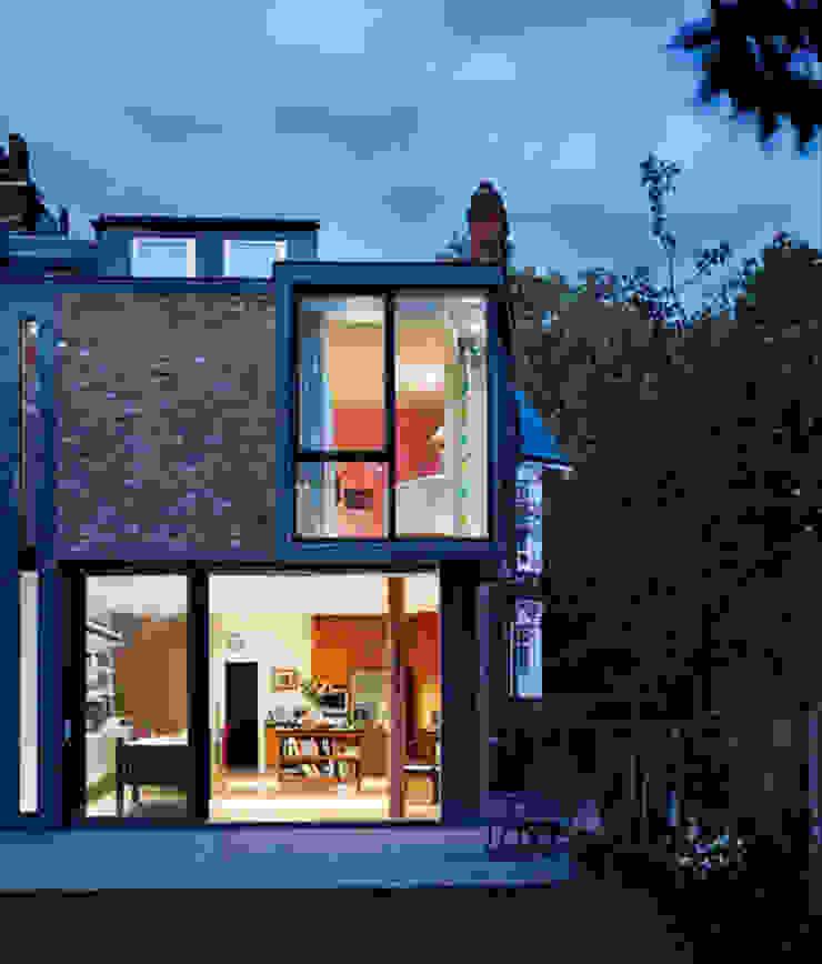 Milman Road - garden elevation by Syte Architects Modern