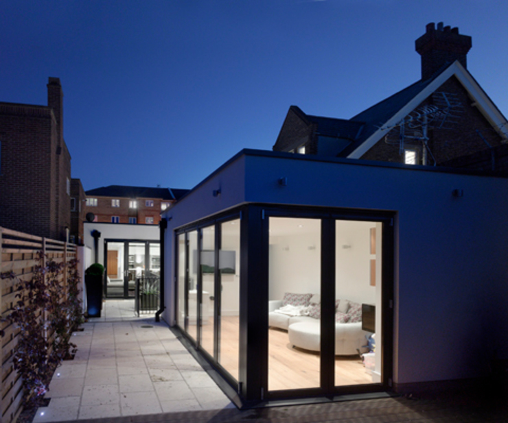 Hertford Road - exterior Modern houses by Syte Architects Modern
