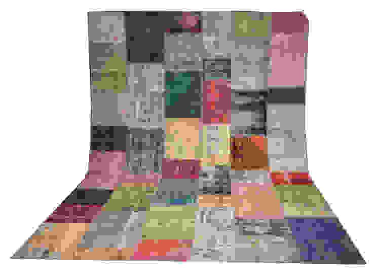 Refound Carpet – patchwork carpet: modern tarz , Modern