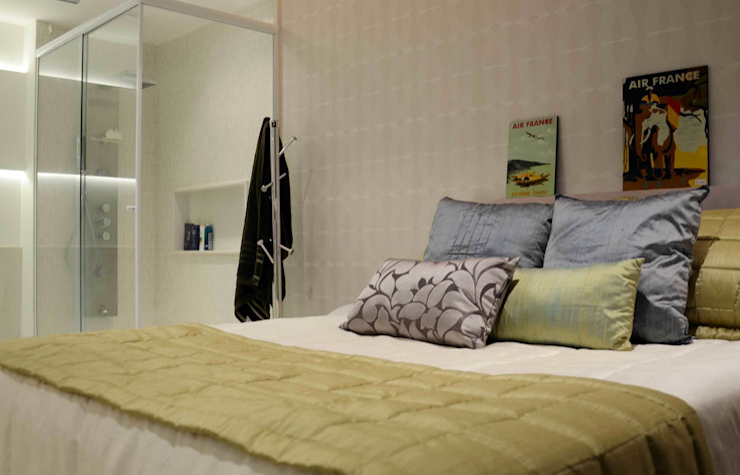Modern Bedroom by fpr Studio Modern