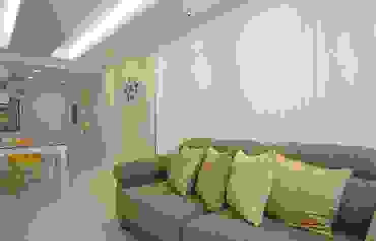 Sala de Estar Salas de estar modernas por fpr Studio Moderno