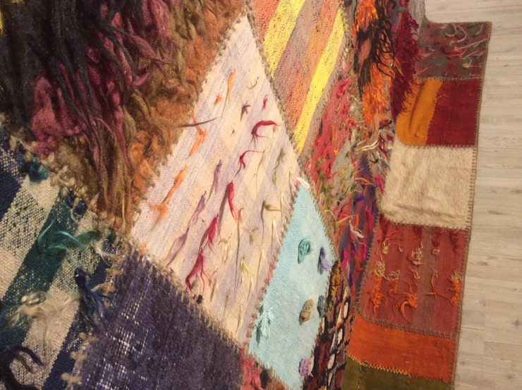 Refound Carpet – Tülü patchwork: modern tarz , Modern