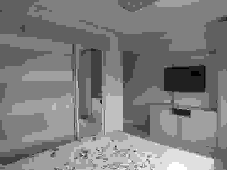 Dormitório do casal Arketing Identidade e Ambiente Quartos clássicos
