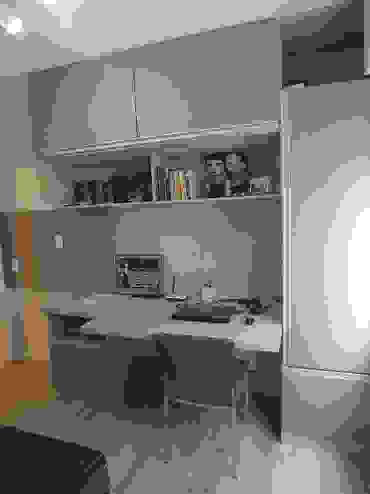 Quarto de hospedes/home office Arketing Identidade e Ambiente Quartos clássicos