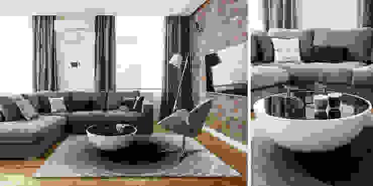 salon: styl , w kategorii Salon zaprojektowany przez Anna Maria Sokołowska Architektura Wnętrz ,Nowoczesny