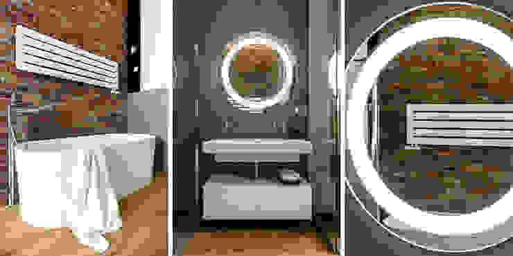 Bathroom by Anna Maria Sokołowska Architektura Wnętrz , Modern