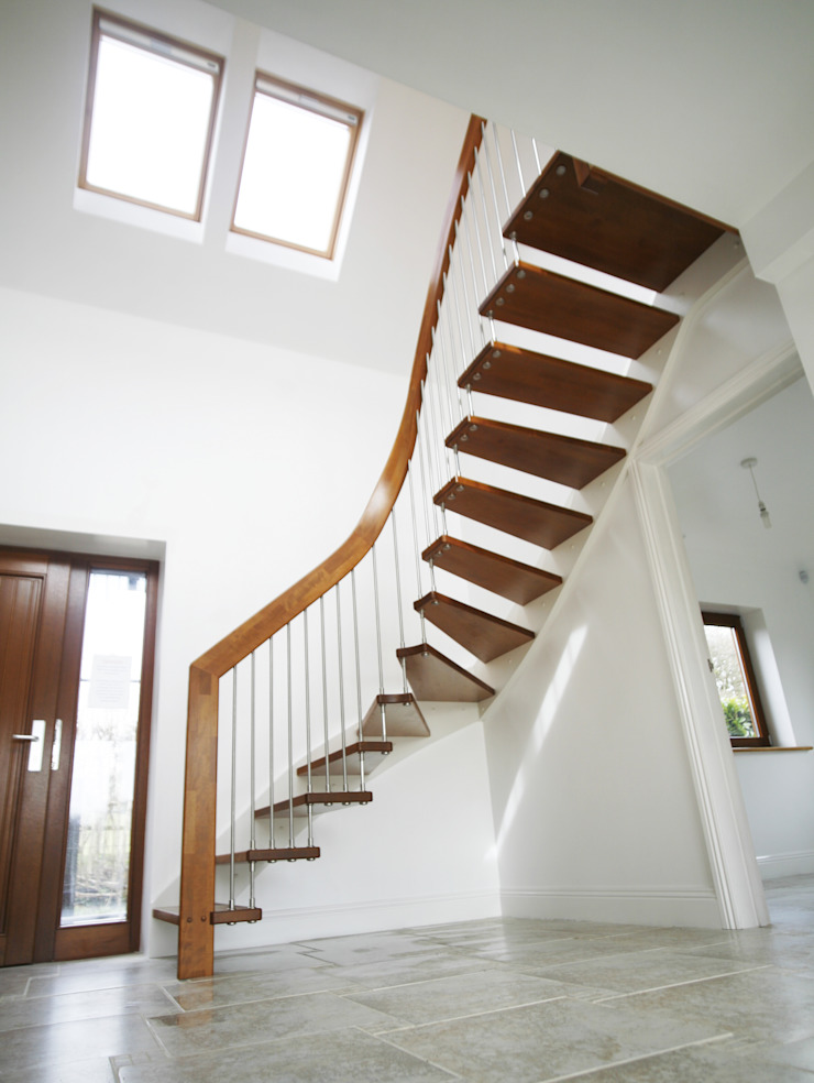Floating Staircase Ringwood: modern  by Complete Stair Systems Ltd, Modern