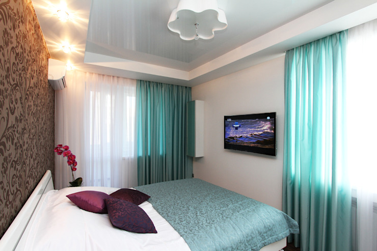 От дизайн проекта до готового объекта Спальня в стиле минимализм от LD design Минимализм