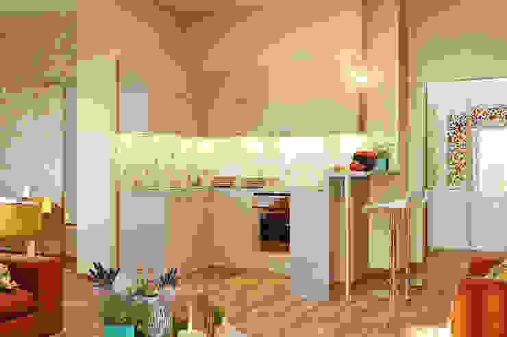 Романтический интерьер для семейной пары Кухня в классическом стиле от Студия дизайна Interior Design IDEAS Классический